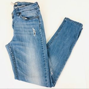 Forever21 Distressed Skinny Jeans Size 30
